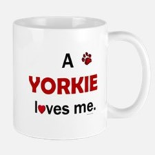 A Yorkie Loves Me Mug
