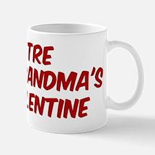 Tres is grandmas valentine Mug