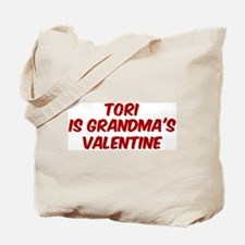 Toris is grandmas valentine Tote Bag