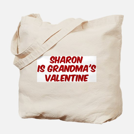 Sharons is grandmas valentine Tote Bag