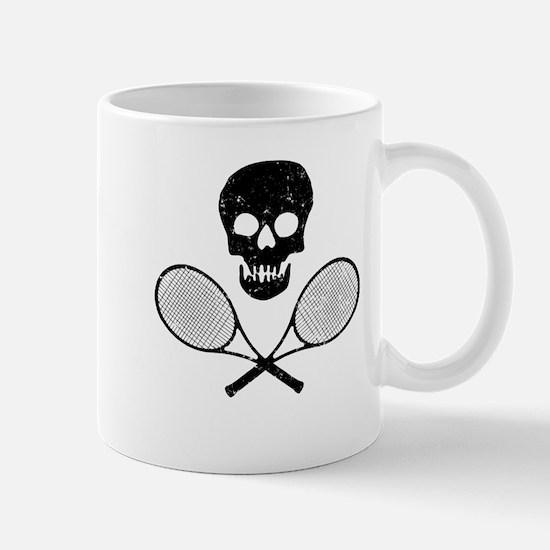 Skull & Tennis Racquets Mug