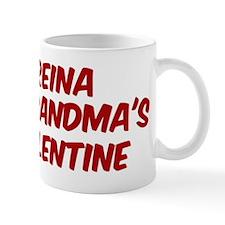 Reinas is grandmas valentine Mug