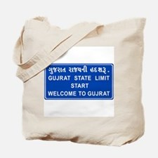 Welcome To Gujarat, India Tote Bag