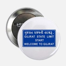 """Welcome To Gujarat, India 2.25"""" Button"""