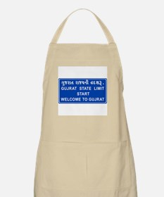 Welcome To Gujarat, India BBQ Apron