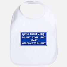 Welcome To Gujarat, India Bib
