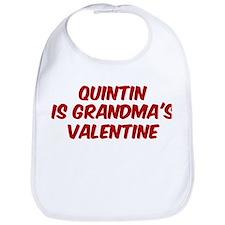 Quintins is grandmas valentin Bib