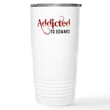 Addicted to Edward Travel Mug