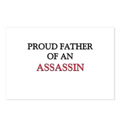 Proud Father Of An ASSASSIN Postcards (Package of