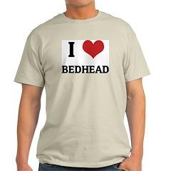 I Love Bedhead Ash Grey T-Shirt
