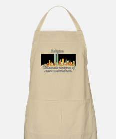 anti-religion BBQ Apron