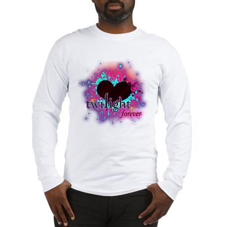 twilight forever dark heart Long Sleeve T-Shirt