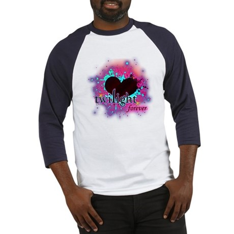 twilight forever dark heart Baseball Jersey