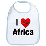 I Love Africa Bib