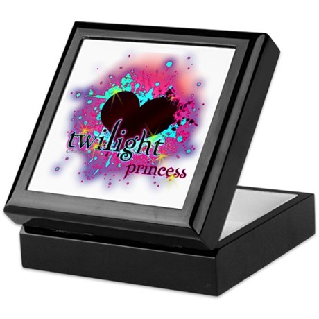 Twilight Princess Heart Keepsake Box