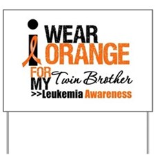 Leukemia (Twin Brother) Yard Sign