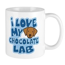 I Love my Chocolate Lab Mug