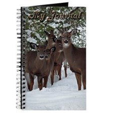 Whitetail Deer Family Journal