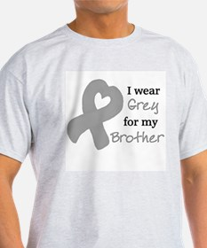I WEAR GREY for my Brother T-Shirt