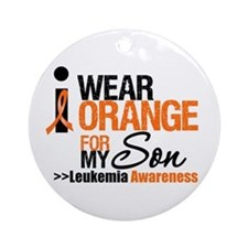 Leukemia (Son) Ornament (Round)