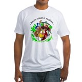 New orleans jazz fest Fitted Light T-Shirts