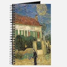 Van Gogh White House at Night Journal