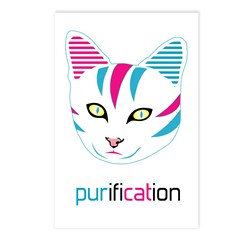 Pur Cat Postcards (Package of 8)