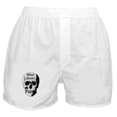 Ghost Hunter Skull Boxer Shorts