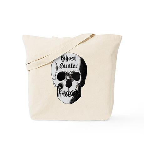 Ghost Hunter Skull Tote Bag