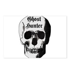 Ghost Hunter Skull Postcards (Package of 8)