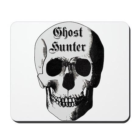 Ghost Hunter Skull Mousepad