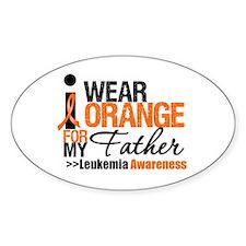 Leukemia (Father) Oval Bumper Stickers