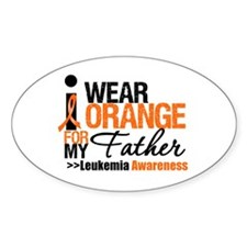 Leukemia (Father) Oval Decal