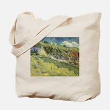 Van Gogh Thatched Cottages Tote Bag