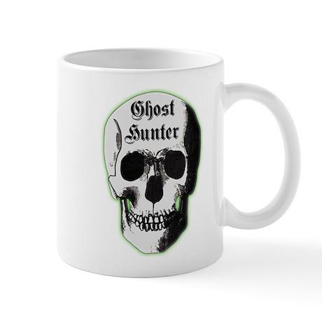 Ghost Hunter Skull Mug