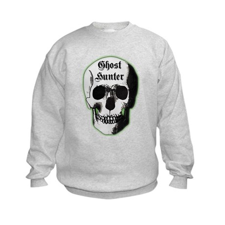 Ghost Hunter Skull Kids Sweatshirt