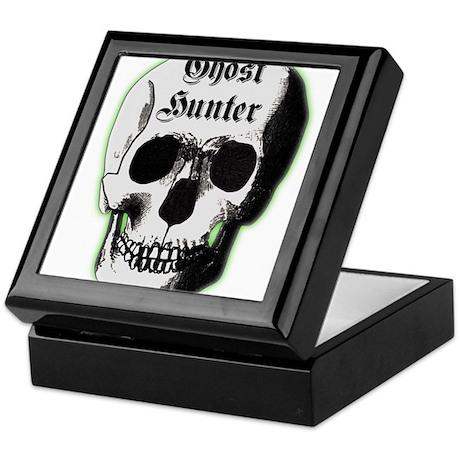 Ghost Hunter Skull Keepsake Box