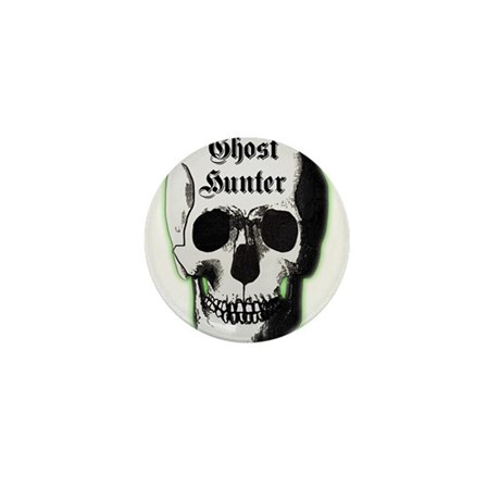 Ghost Hunter Skull Mini Button (100 pack)