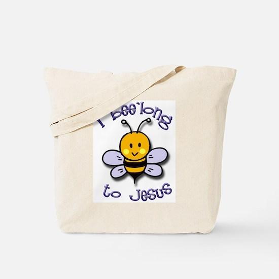 I Bee'long to Jesus (1) Tote Bag