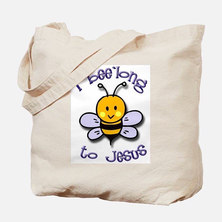 I Bee'long to Jesus (1) Tote Bag