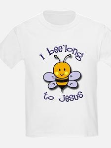I Bee'long to Jesus (1) Kids T-Shirt