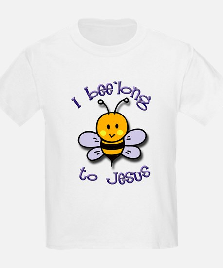 I Bee'long to Jesus (1) Kids T-Shirt