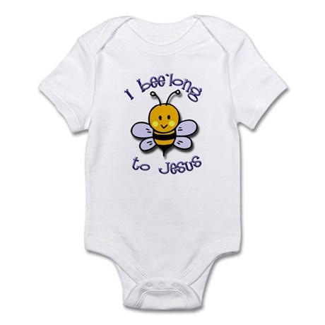 I Bee'long to Jesus (1) Infant Creeper