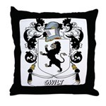 Gwilt Coat of Arms Throw Pillow