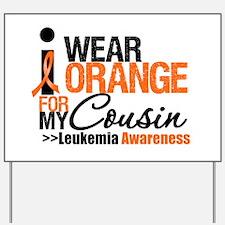 Leukemia Support Yard Sign