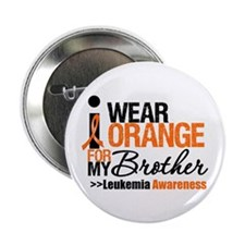 "Leukemia (Brother) 2.25"" Button (10 pack)"