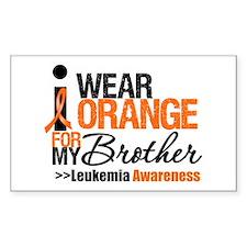 Leukemia (Brother) Rectangle Decal