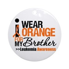 Leukemia (Brother) Ornament (Round)