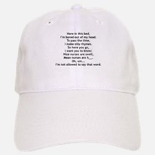 Rhyme Time Baseball Baseball Cap