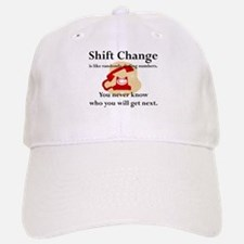 Shift Change Baseball Baseball Cap
